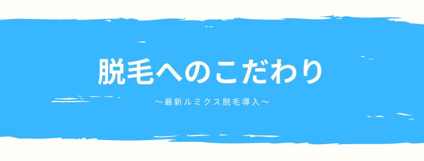 """脱毛へのこだわり<span class=""""midashi"""">立川駅でヒゲ脱毛・メンズ脱毛 リアンジュ</span>"""